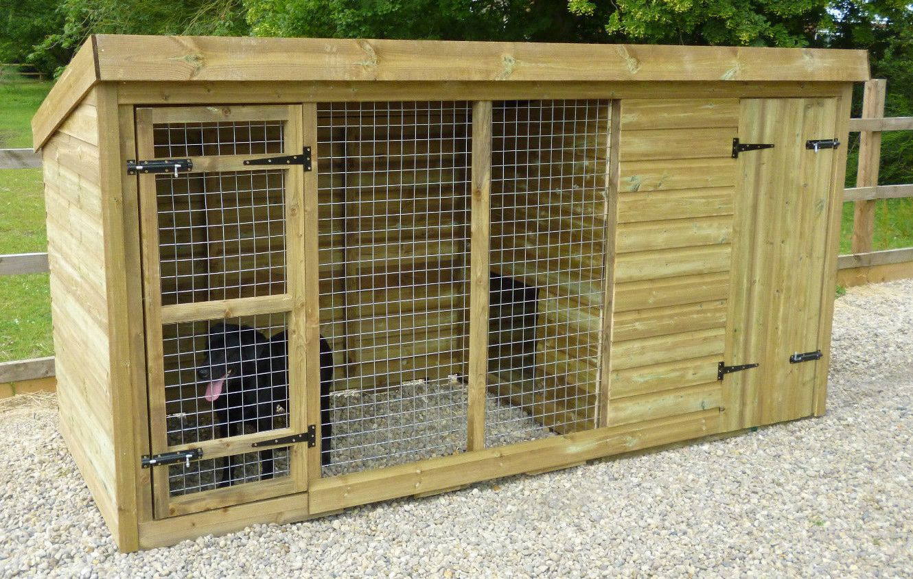 Radley dog kennel and run for Dog house and run