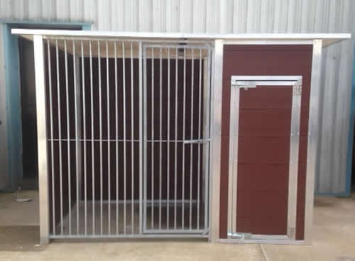 Plastic Dog Kennels with Runs